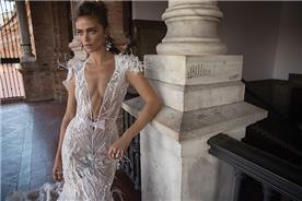 שמלת ערב כפתיות עבות