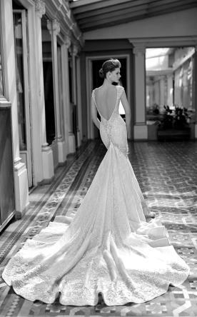שמלת כלה דמרתית נוצצת