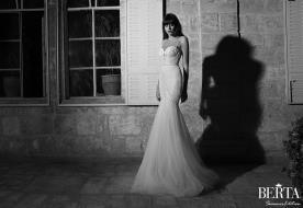 שמלת כלה נועזת דוגמת חרוזים