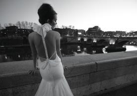 שמלת כלה פפיון ורבידות