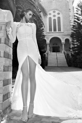 שמלת כלה מיני שובל