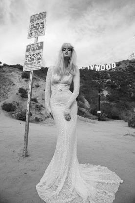 שמלת כלה בת ים חרוזים