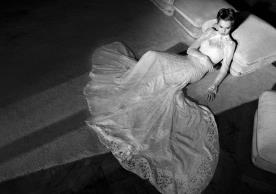 שמלת כלה צנועה מתחרה