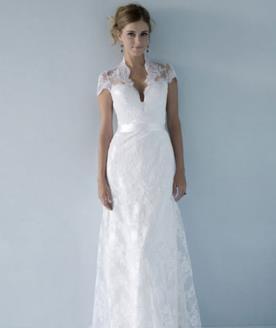 שמלת כלה תחרה למראה נצחי