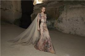שמלת ערב בגזרת בת ים