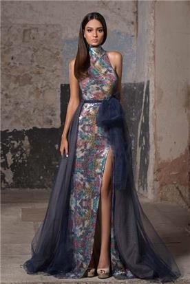 שמלות ערב משי