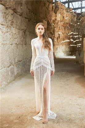 שמלה עם שרוול קצר