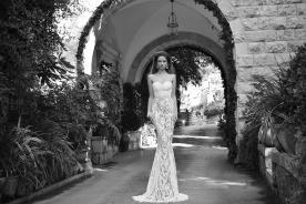 שמלת כלה סטרפלס מתחרה מיוחדת