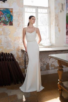 שמלה כלה אלגנטית בעיצוב מעודן