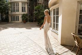 שמלת כלה תחרה למראה מלוטש