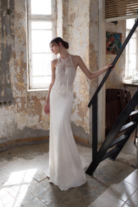 שמלת כלה אלגנטית למראה עדין