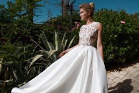 שמלת כלה קלאסית למראה מלוטש