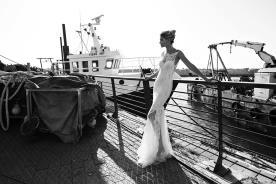 שמלת כלה מודרנית רומנטית לכלה