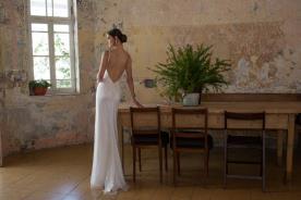 שמלת כלה אידיאלית עם גב חשוף