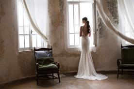 שמלת כלה מקסי עם שובל ארוך