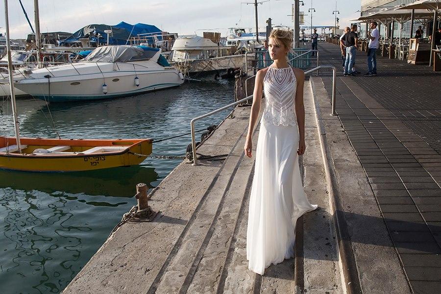 שמלת שני חלקים בשילוב תחרה
