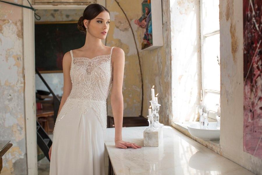 שמלה פשוטה תחרה
