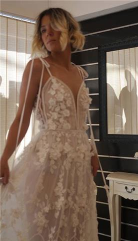 שמלת ערב של מעצבת נטלי קוטור