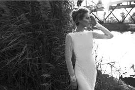 שמלת כלה צנועה בסגנון וינטג'