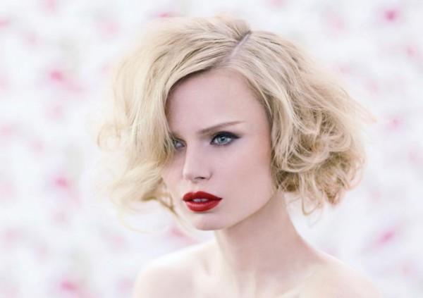 איפור ושיער לכלה לשיער קצר