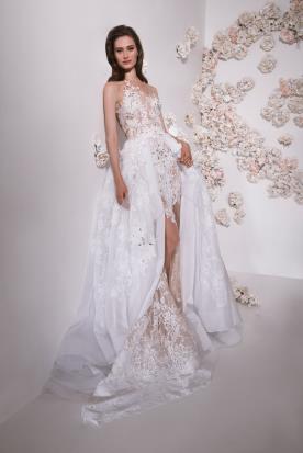 שמלת כלה כתף אסימטרית