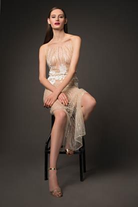 שמלת ערב הוט קוטור ניוד