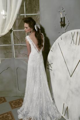 שמלת כלה כפרית רומנטית מתחרה