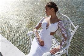 שמלות שושבינה עם כתפיות עבות