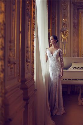 שמלת כלה לבנה סגנון קלאסי