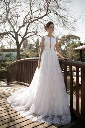 שמלת כלהמ חשוף מרובע