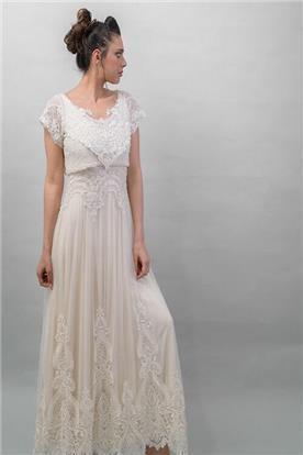 שמלה כלה קצרה