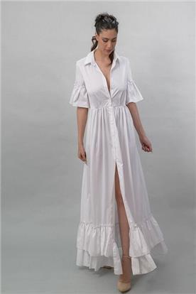 שמלה כלה עם שסע 2020