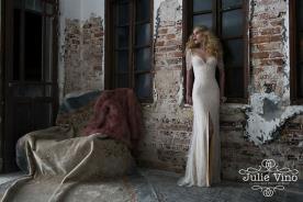 שמלת כלה מחורזת וינטאג'