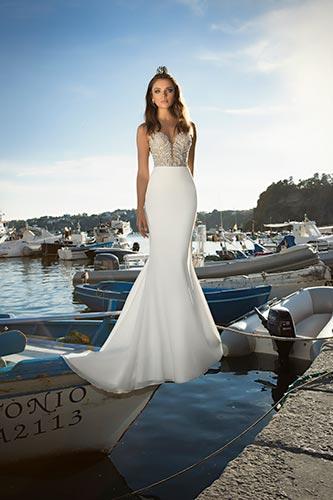 שמלת כלה עדינה בגזרת בת הים
