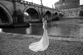 שמלת כלה כתפיים חשופות