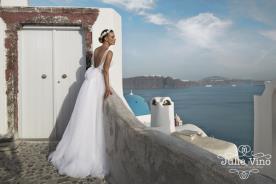 שמלת כלה רומנטית עם חצאית טול