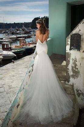 שמלת כלה בת הים שובל טול