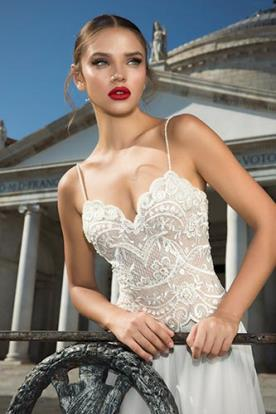שמלת כלה טופ תחרה רומנטית
