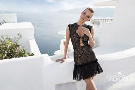 שמלת ערב שחורה מיני
