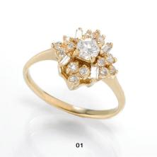 טבעת זהב ייחודית