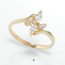 טבעת בצורת טוויסט