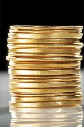 טבעות זהב חלקות