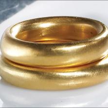 טבעת מבריקה שתי שכבות