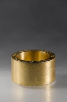 טבעת נישואין עם חריטה