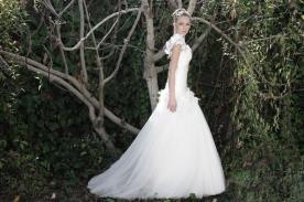 שמלת כלה אלגנטית לערב רומנטי