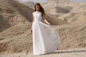 שמלת כלה במראה זוהר