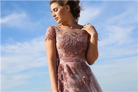 שמלת כלה ורודה