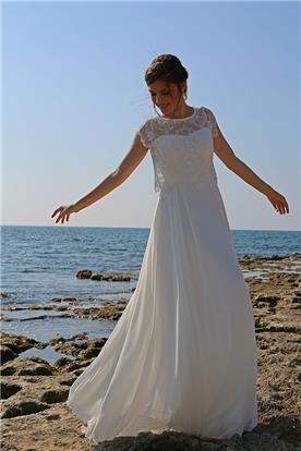 שמלת כלה בסגנון רפוי