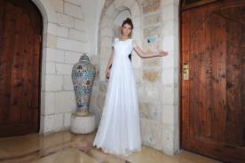 שמלת כלה איכותית למראה נקי