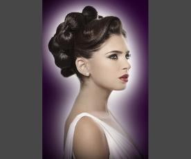 שיער בעיצוב אלגנטי מתוחכם